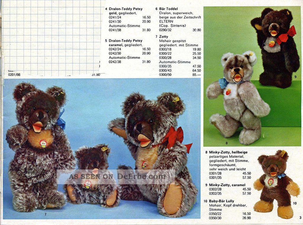 steiff katalog 1972 knopf im ohr programm 39 72. Black Bedroom Furniture Sets. Home Design Ideas