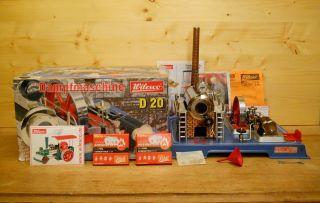 (69) Wilesco Dampfmaschine D 20 Mit Karton Und Zubehör Bild