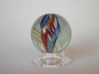 Alte Große Murmel Marble Mit Abriss Klasse Bild