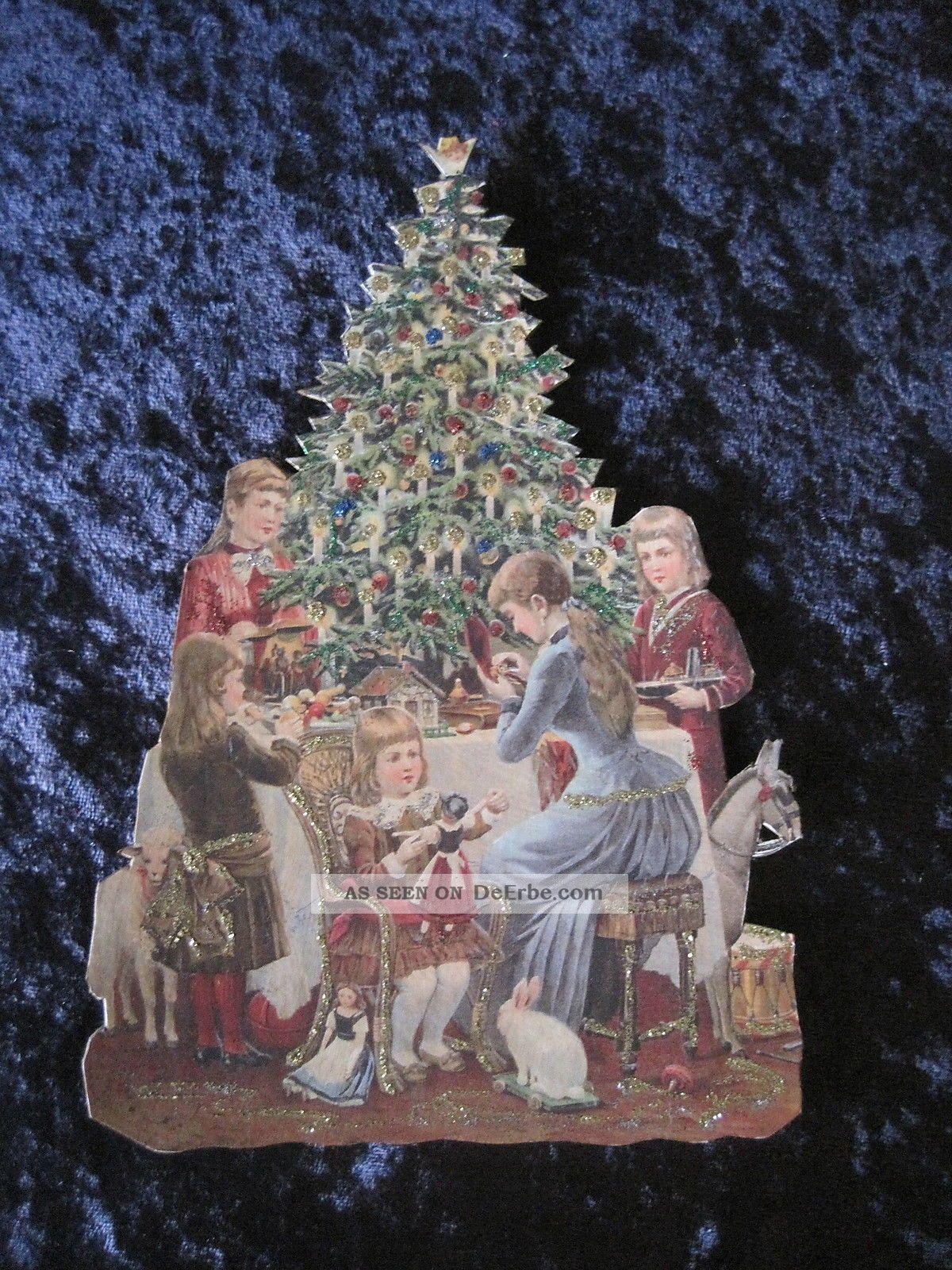 alter weihnachtsschmuck pappaufsteller weihnachten kinder. Black Bedroom Furniture Sets. Home Design Ideas