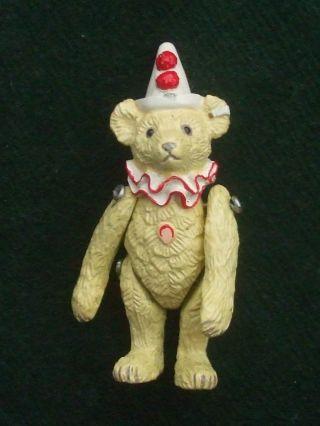 Steiff - Teddy Clown,  Aus Zinn / Zinnminiatur,  Steiff Club 1994/95 Bild