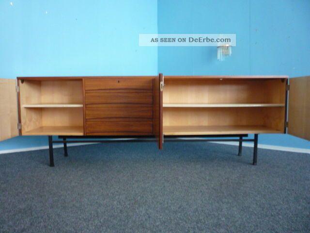 Grosses und schlichtes sideboard palisander 60er 70er jahre for Sideboard 60er jahre stil