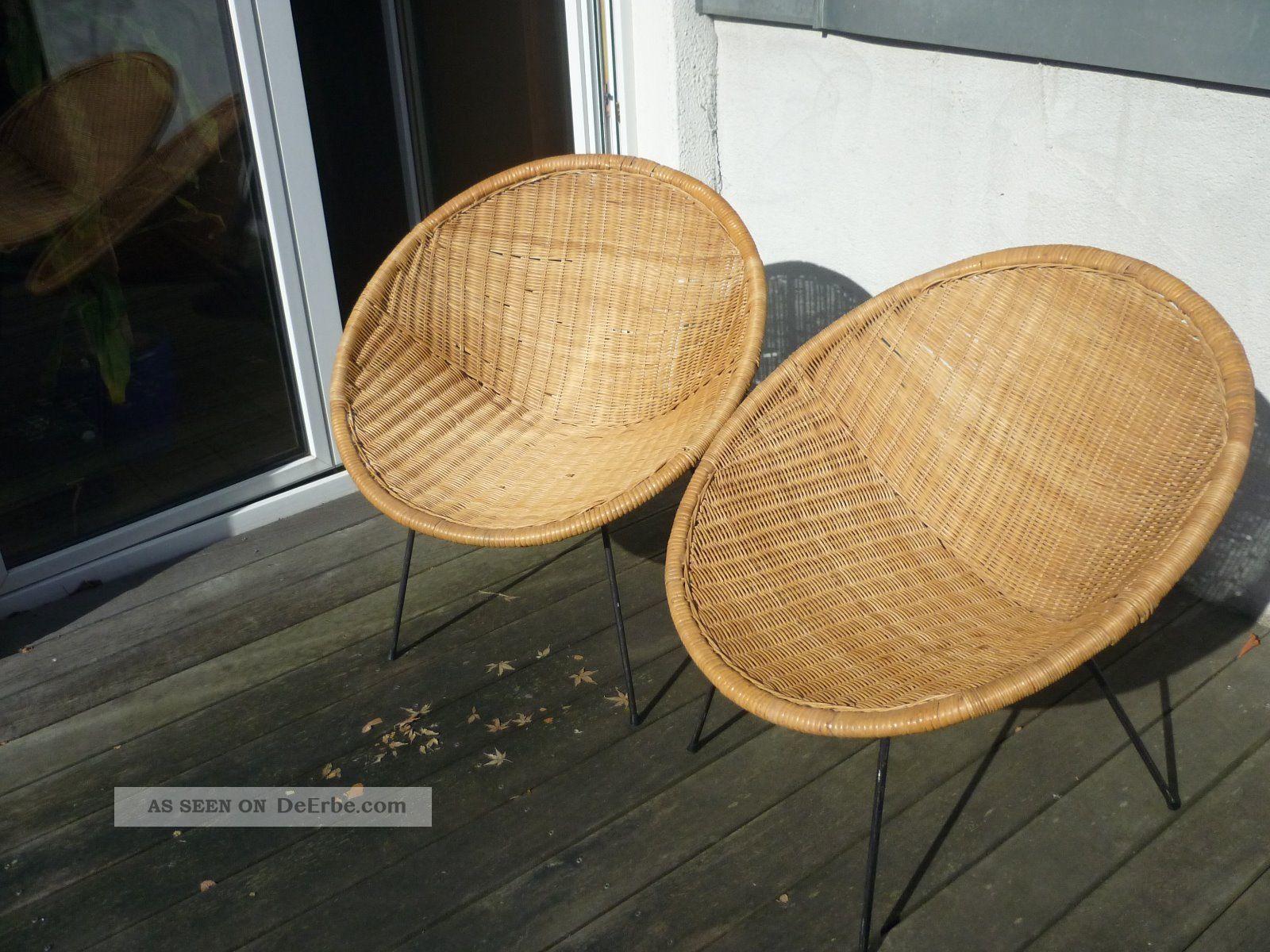 retro korbstuhl korbsessel string korbstuhl er er