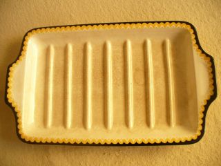 Spargelplatte Keramik Schale Villeroy&boch Mettlach Bild