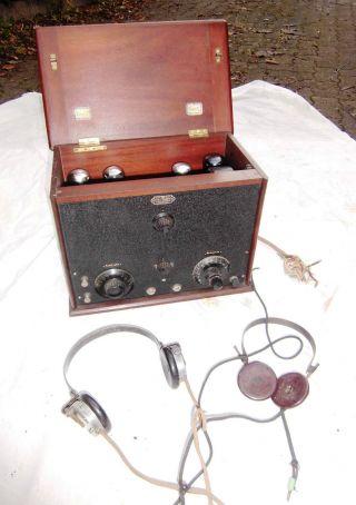 Ducretet - Röhrenradio - Um 1925 - Sehr Gepflegter. Bild