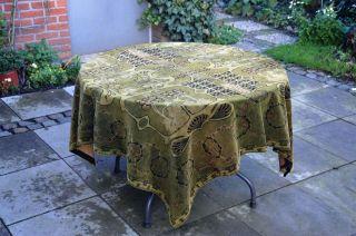 Große Alte Tischdecke - Tafelkleed - Jugendstil - Sehr Schön Bild