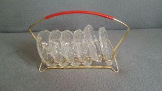 Glasuntersetzer Retro Bild