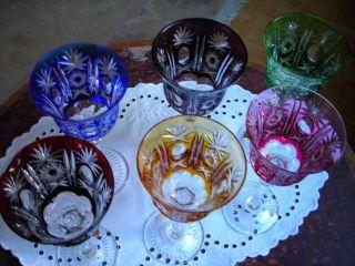 Weingläser Römer,  Echtes Kristallglas Aus Den 70er Jahren Bild