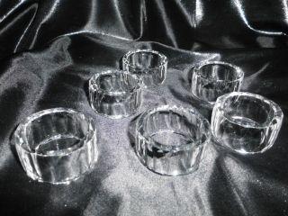 Serviettenringe Kristall In Originalverpackung Bild