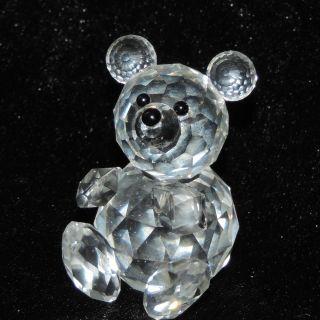 Swarovski Kristall Glas Figur Bär Teddy Crystal 55mm Bild