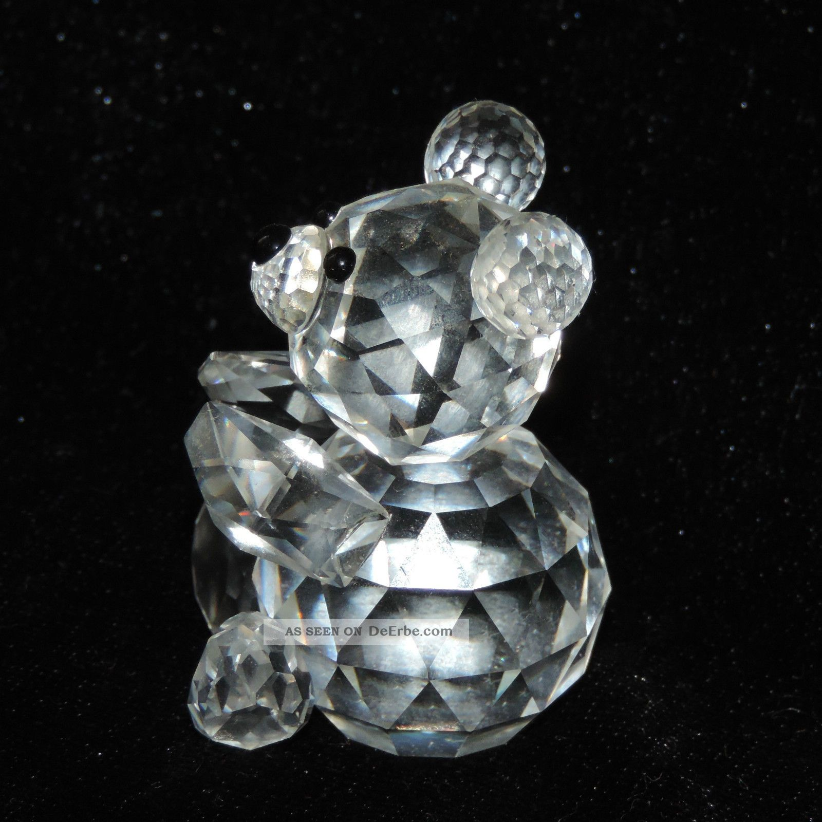 swarovski kristall glas figur b r teddy crystal 55mm. Black Bedroom Furniture Sets. Home Design Ideas