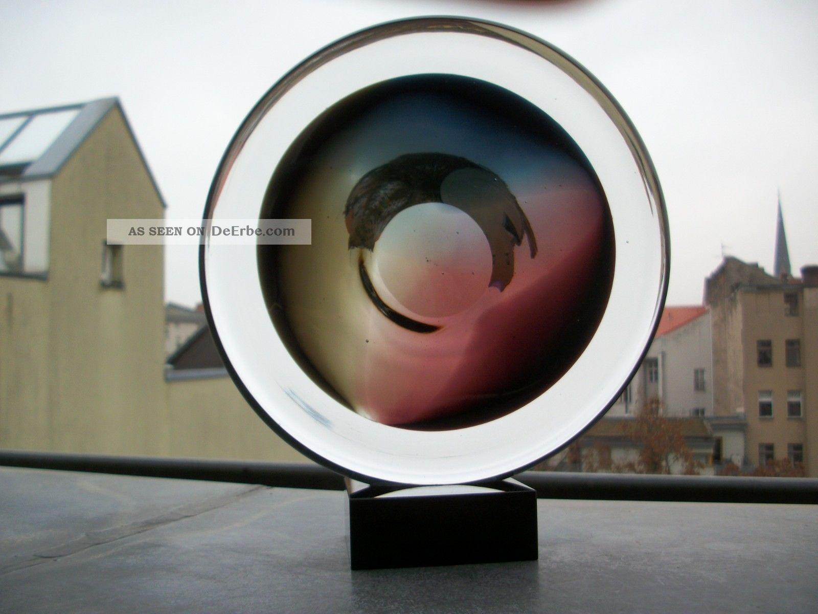 Xxl Murano Glas Skulptur Objekt Unikat 3kg 550gr