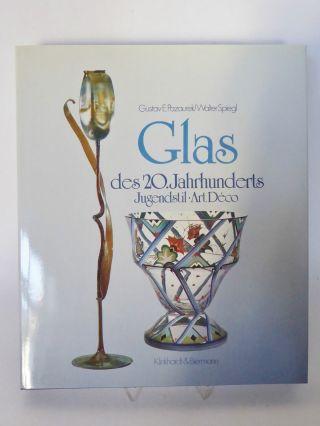 Fachbuch: Glas Des 20.  Jahrhunderts Jugendstil Art Deco Pazaurek / Spiegl (k) Bild