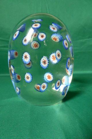 Briefbeschwerer Glas (paperweight) Glaskugel Drei D Effekt Massiv Glas Bild