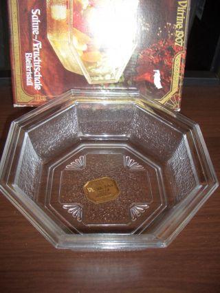 Wmf Bleikristall Sahne/fruchtschale In Ov Bild