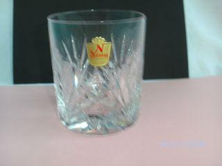 6xnachtmann Nierstein Becher - Whiskyglas - Whiskeybecher 24 Bleikristall Bild
