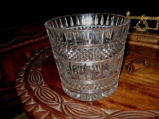 Sehr Schwere Bleikristall Vase - 3,  1 Kg Bild