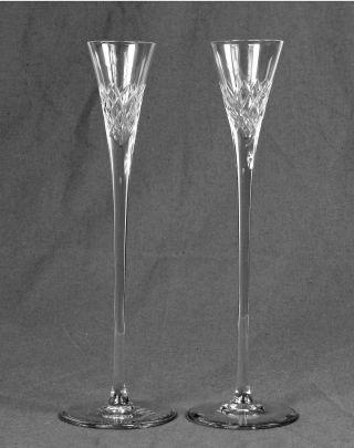 Kristall Likörglas Schnapsglas Stängelglas Geschliffen Ev.  Baccarat 2 Stück Bild