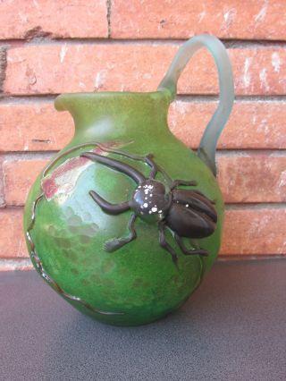 Emile Galle Art Nouveau Vase Bild
