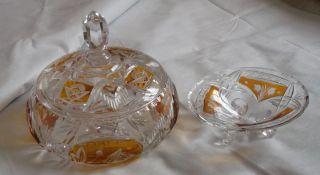 Bonboniere,  Konfektschale Kristall Schwer Ø 19 Cm Bild