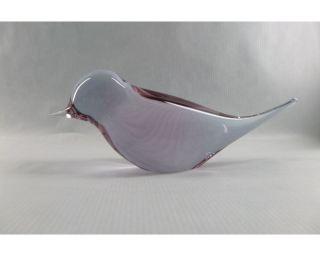 Murano Seltener Vogel Von Livio Seguso Signiertes Top Rare Colour Bild