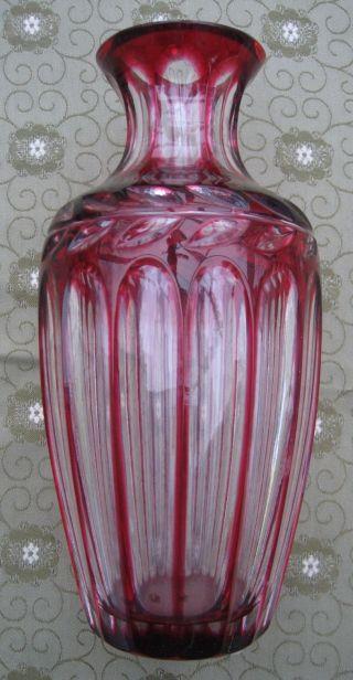Wmf Vase Cristal Cabinet In Rot Bild