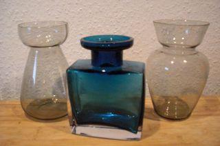 Hyazinthenglas Gral ? Bauhaus? Glas Vasen Konvolut Bild