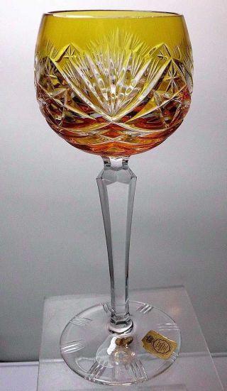 Nachtmann Weinrömer / Römer / Wein - Glas Farbe: Bernstein 19,  2 Cm Bild