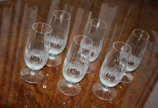 6 Kristallgläser Biertulpen Biergläser Kristall - Waterford Crystal Colleen ? Bild