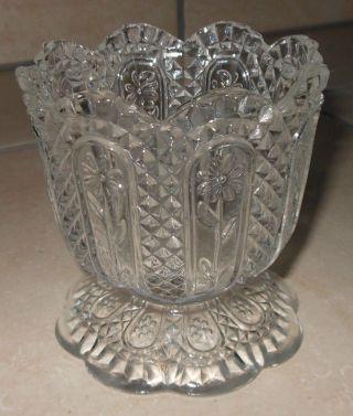 Schweres Glas,  GefÄß Schale Von Avon,  Ca.  40 Jahre Alt,  AntiquitÄt,  Top Bild