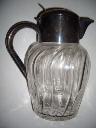 Kalte Ente,  Karaffe,  Kristallglas,  Art Deco,  Jugendstil Bild