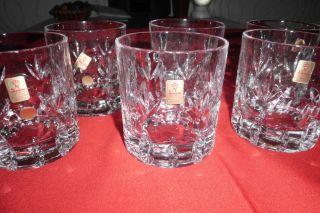 Nachtmann Bamberg 24 Bleikristall 6 Whisky / Longdringgläser,  Gläser Bild