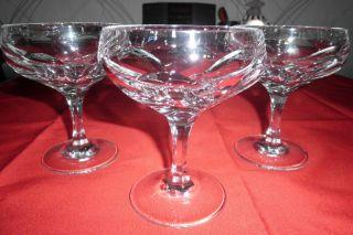 Nachtmann Sonja 24 Bleikristall 3 Sektschalen,  Sektgläser,  Gläser Bild