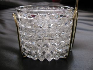 50 - Jahre 6 Kristall - Glas - Untersetzer Im Ständer,  Bleikristall,  Schön Bild