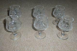 Kristall - Gläser Für Vodka / Likör - Handarbeit Bild