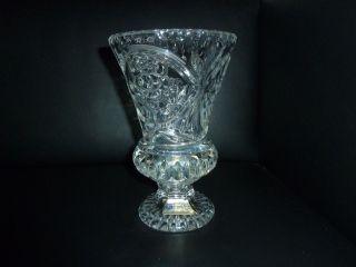 Schöne Große Bleikristall Vase Pokal Kelch Tritschler Winterhalder Bild