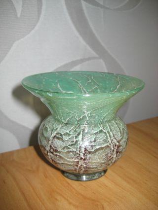 Kleine Wmf Ikora Glas Vase Art Deco Glas Um 1930 Bild