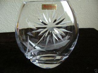 Sehr Edle Seltene Schwere Ovale Nachtmann Bleikristall Vase 2,  7 Kg Bild