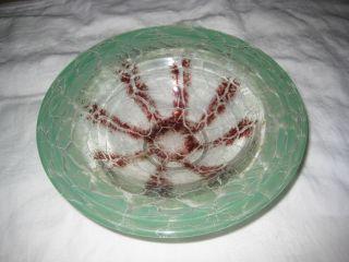 Wmf Ikora Glas Schale Dekoschale Art Deco Glas Um 1930 Bild