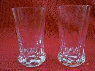 2 Wasser - Oder Saftgläser Villeroy,  Boch / V&b / Mars 2000 / Kristall Bild