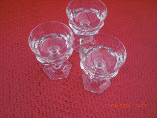 3 Likörgläser Villeroy,  Boch / V&b / Mars 2000 - Kristall Bild