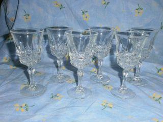 6 Wunderschöne Kristall Likör Gläser Bild