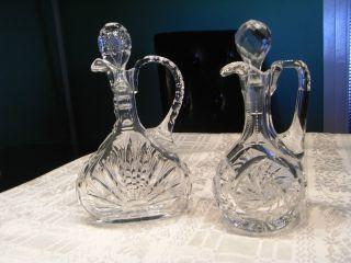Essig &Öl Garaffe Bleikristall Bild
