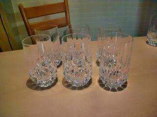 6 Becher Oder Wassergläser Von Nachtmann,  Modell Patrizia,  Nr.  2 Bild