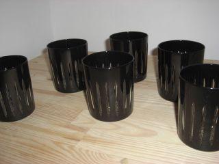 6 Bleikristall Whiskygläser / Scotch Gläser / Gläser / Römer - Kristall Bild