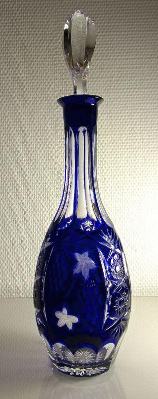 Nachtmann Traube Likör - Karaffe Kobaltblau Bild