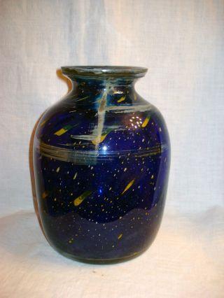Seltene Vase,  Gralglas Dürnau,  Karl Wiedmann,  60er Bild