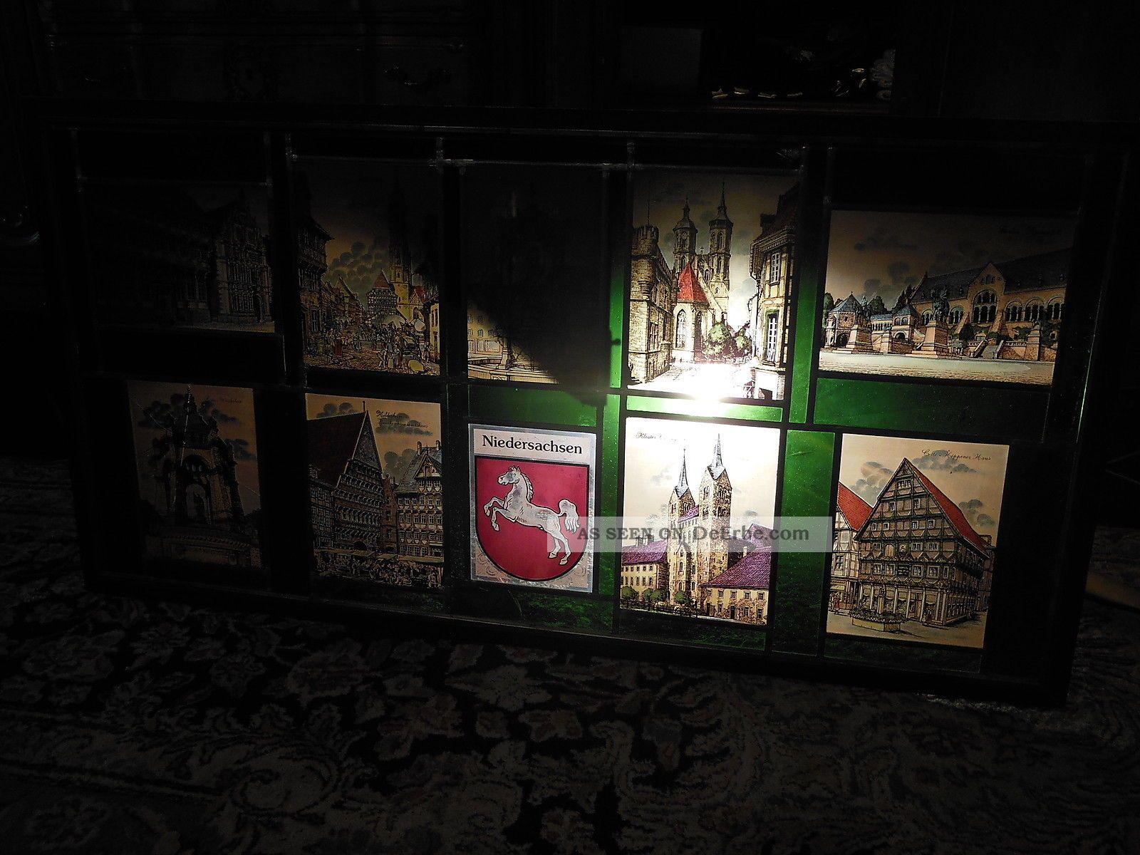 Großes Glasbild 125 X 66 Cm Städtemotive Aus Niedersachsen Glas & Kristall Bild