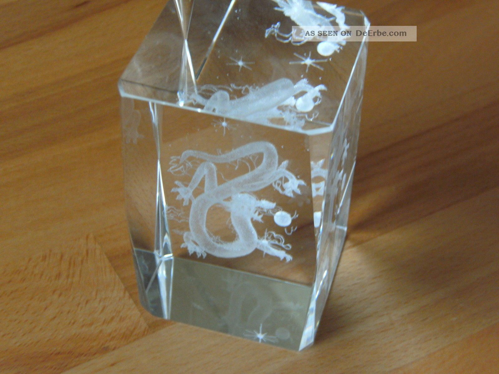 glasdrache 3d glas mit geschenkbox. Black Bedroom Furniture Sets. Home Design Ideas