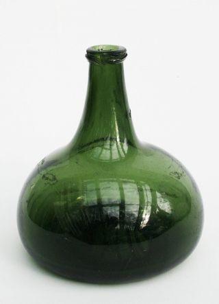 Flasche Kugelflasche Zwiebel Onion Hessen Oder Holstein 18.  Jh. Bild